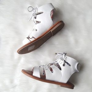 400acb1fa48f Tommy Hilfiger Shoes - Tommy Hilfiger Girls Strappy Gladiator Sandals